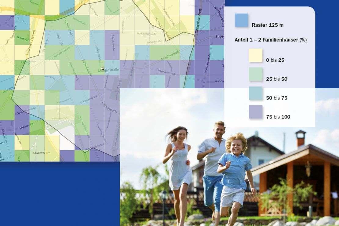 Kundensegmentierung mit Geomarketing im Filialmarketing bei Banken und Sparkassen