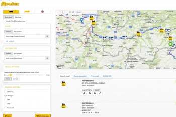 wigeogis operates routex branch finder and route planner