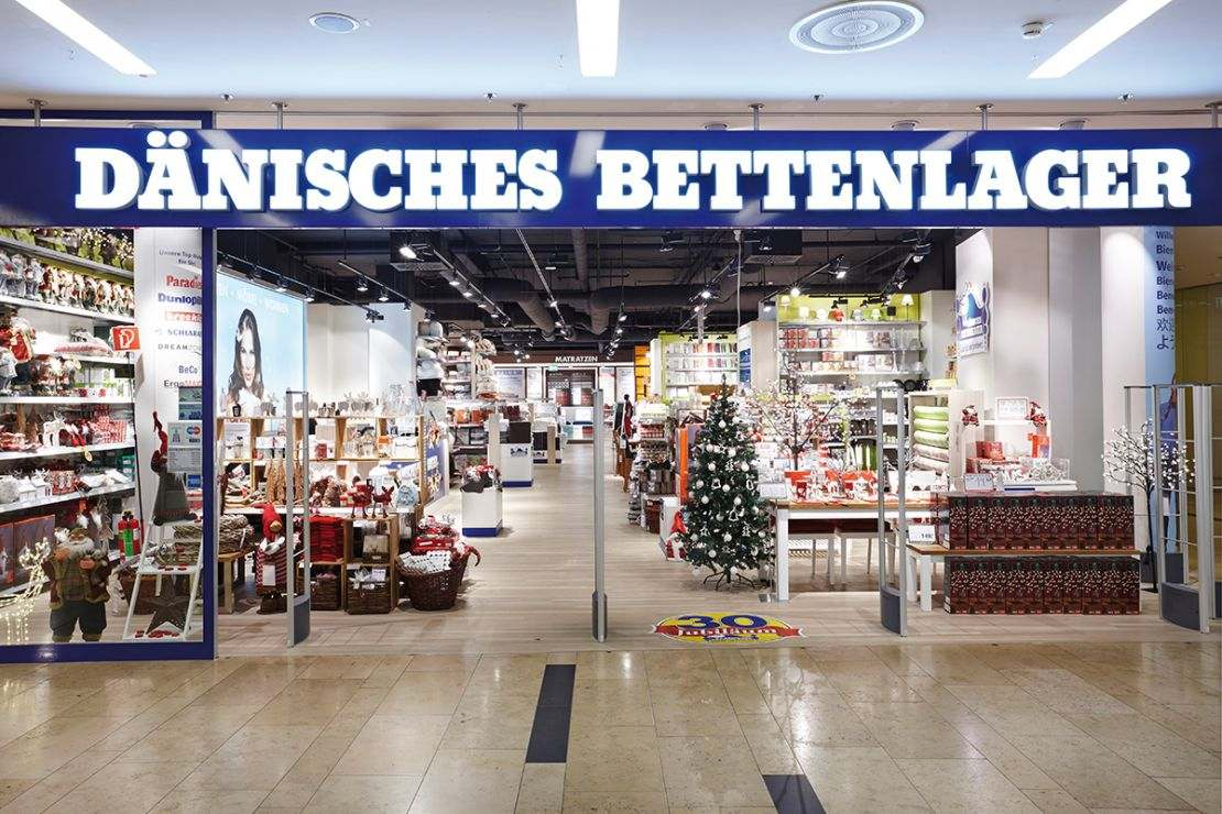Daenisches Bettenlager Is Using Geomarketing Solutions Wigeogis