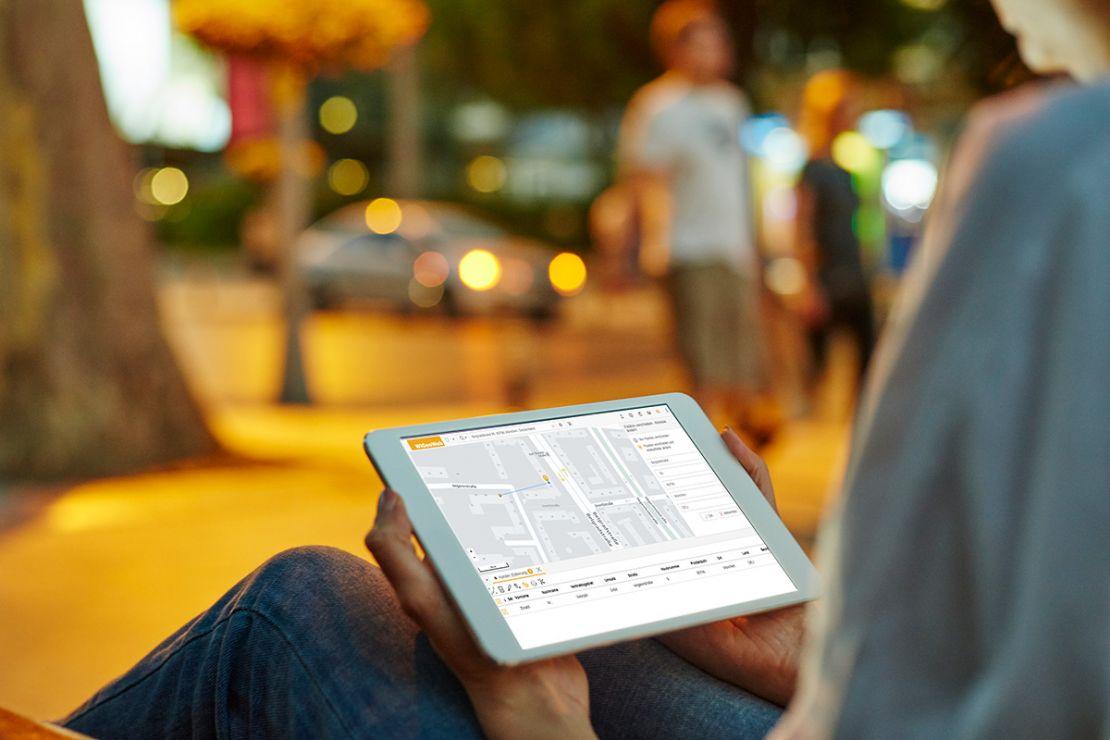 mobile Datenerfassung per GPS-Lokalisierung