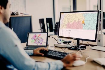 Gebietsaufteilung Vertrieb und Außendienst auf Landkarte nach PLZ