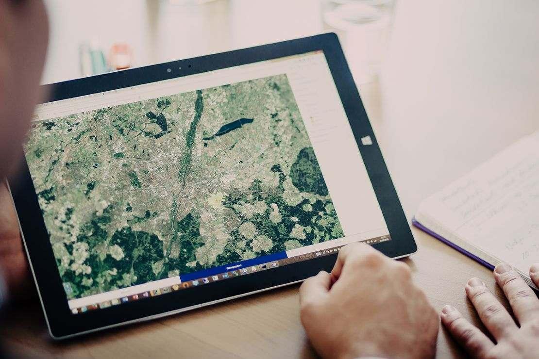 Zugriff auf Geodaten in der Cloud