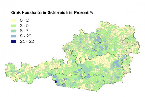 Großhaushalte in Österreich