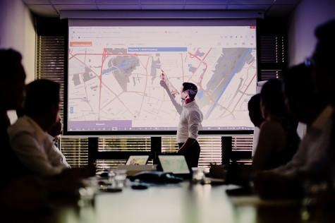 Live Demo - Präsentation der Geomarketing Lösungen abrufen