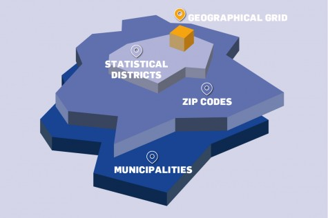 Austria: demographical data for municipalities, zip codes, statistical districts, geographical grid cells