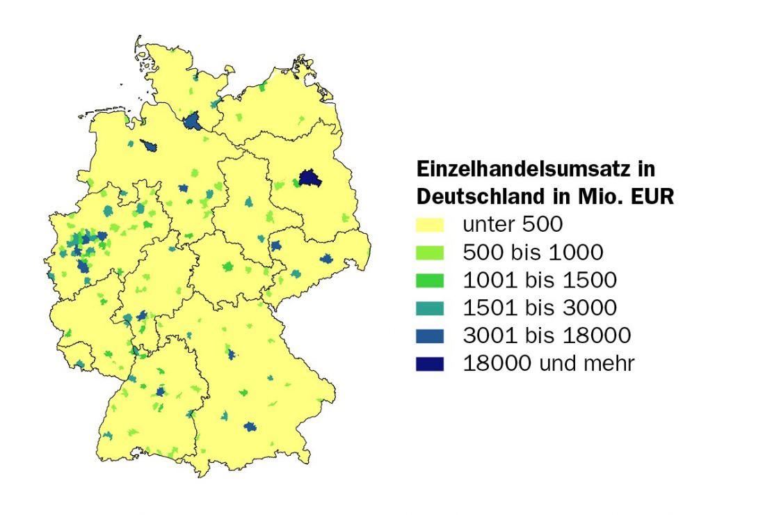 Umsatz im Einzelhandel in Deutschland