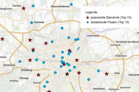 Schließung von Filialen: Gängiges Szenario im Rahmen einer Filialnetz-Optimierung mit Geomarketing.