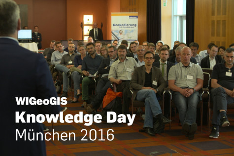 Thumbnail video documentary geomarketing event WIGeoGIS Kowledge Day 2016 in Munich