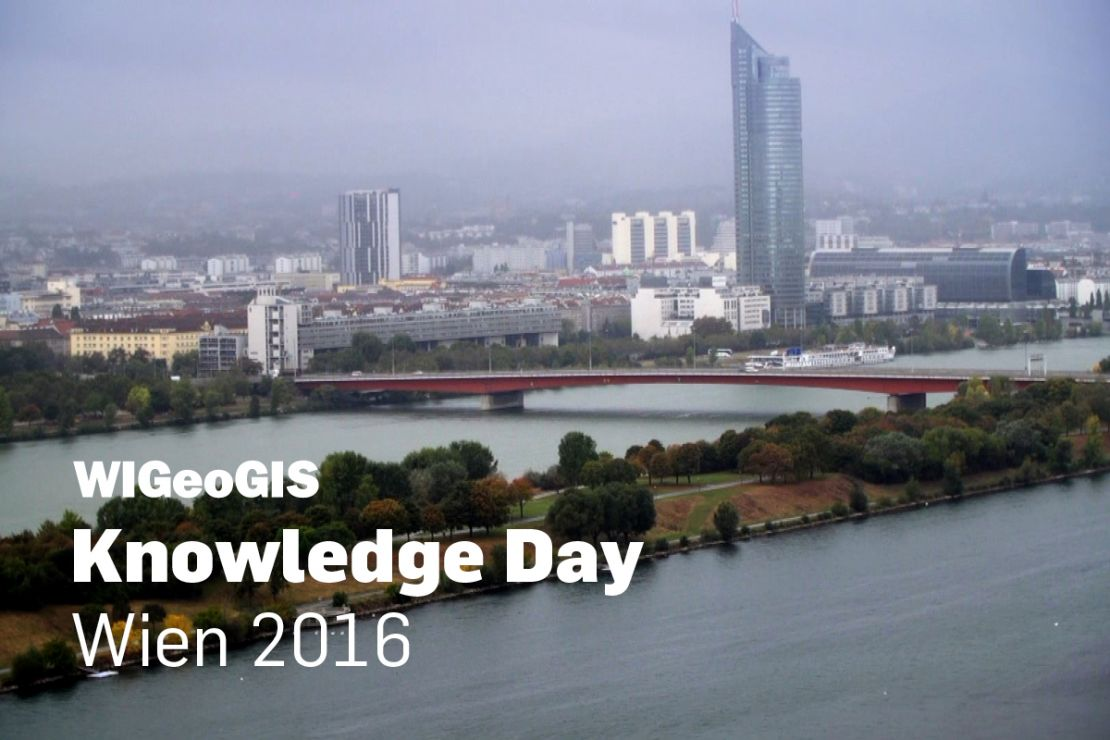 Thumbnail Video-Doku Geomarketing-Event: WIGeoGIS Knowledge Day 2016 in Wien