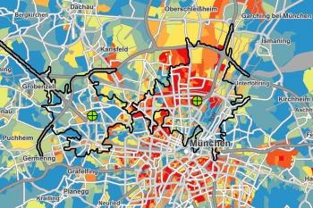 Beispiele für regionale Mediaplanung mit Geomarketing