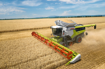 WebGIS Case Study CLAAS: Erntemaschine