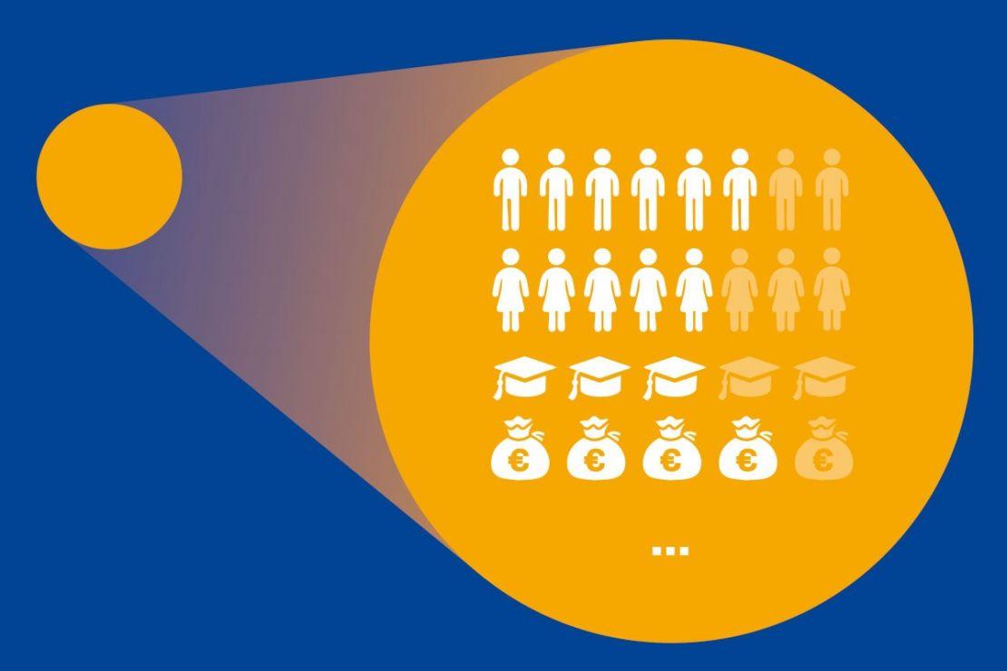 Soziodemografische Daten - Merkmale der Bevölkerung in räumlichen Einheiten wie Postleitzahlen, Gemeinden oder kleiner