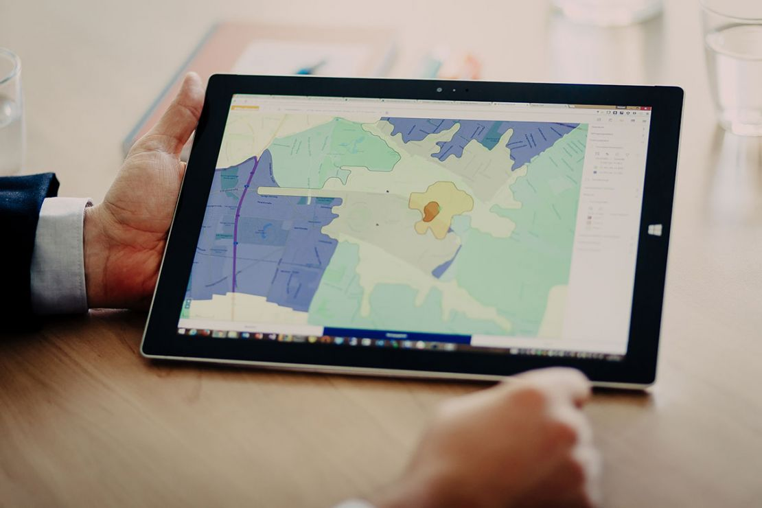 The spatial market reporting of WIGeoGIS helps UniCredit HVB to make the right sales strategy decisions.