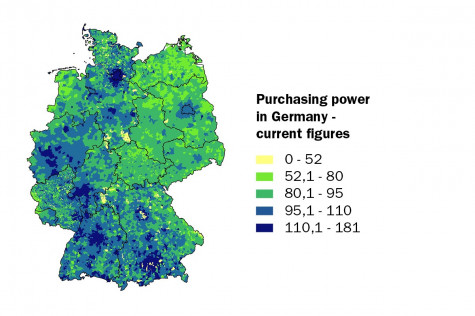 Purchasing power in Germany - current figures