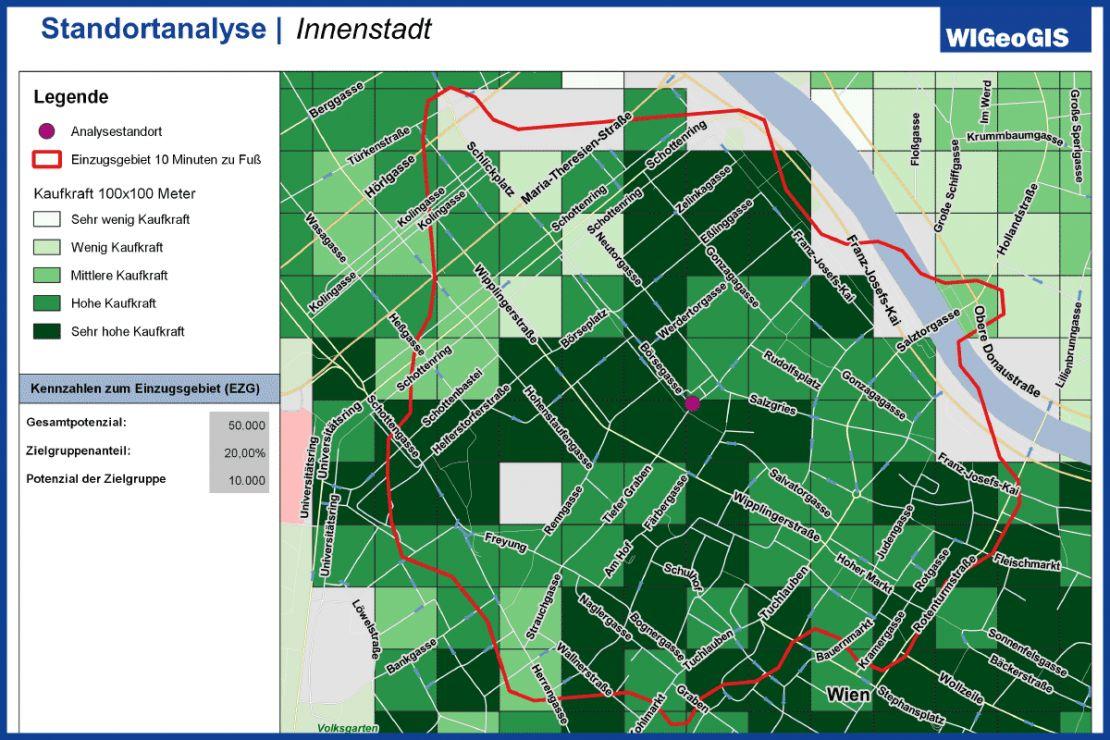 Standortbewertung mit QGIS