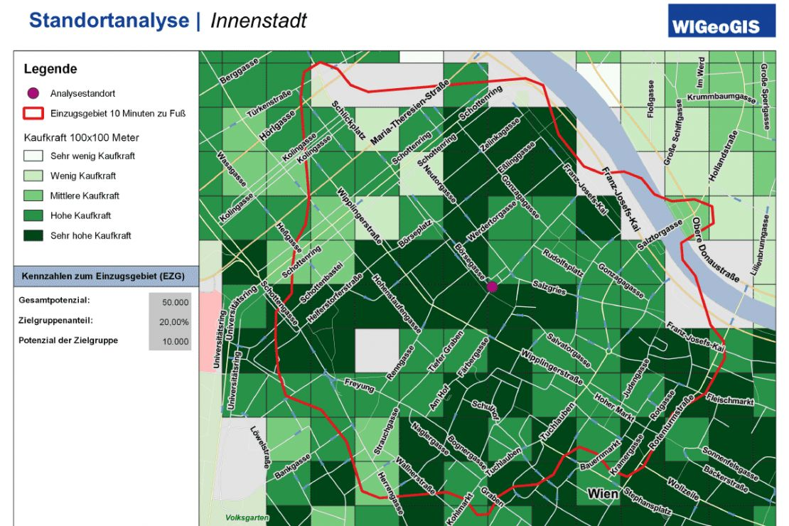 Site evaluation with QGIS