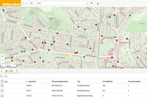 Real(e)value uses WIGeoWeb for real estate appraisals