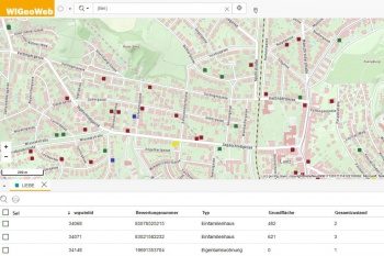 Real(e)value extends the real estate appraisal system with a WebGIS solution from WIGeoGIS