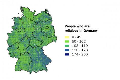 People who are religious in Germany