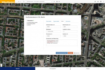 Individual extension for location analysis software WIGeoStandort