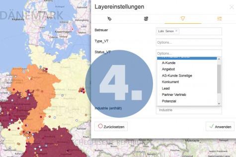 Geomarketing-Analysen mit WebGIS durchführen