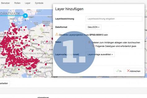 Daten einfach und erfolgreich ins WebGIS importieren