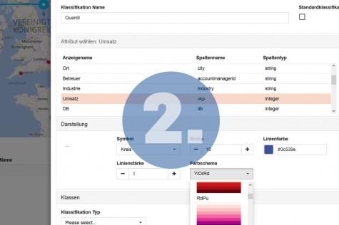 Daten im WebGIS optimal darstellen und organisieren