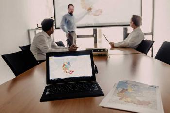Mit WebGIS Software WIGeoWeb lassen sich einfach komplexe regionale Bericht erstellen